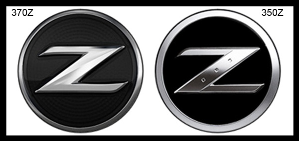 exterior of the car  the Z  Z Logo Car
