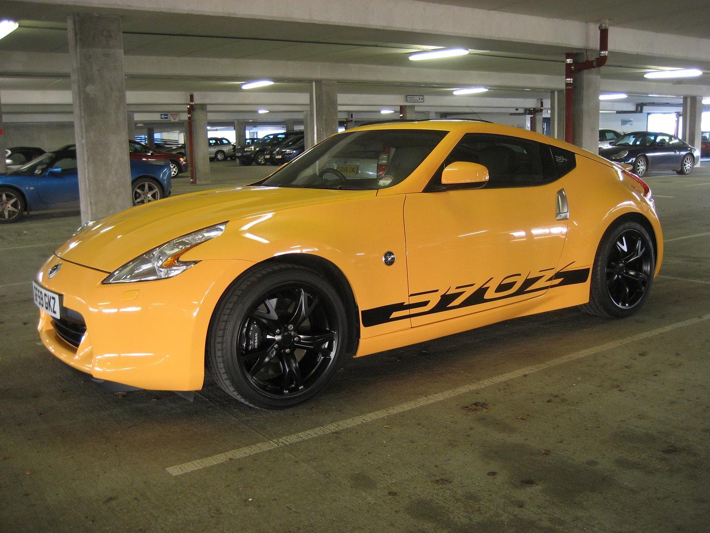 Nissan 370z Yellow 2009 Garage System Nissansportz